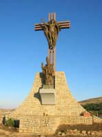 Il Crocifisso e San Leoluca patrono di Corleone, sulla montagna vecchia   - Corleone (2497 clic)