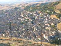 Il panorama del paese visto dalla montagna vecchia  - Corleone (2212 clic)