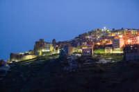 Capizzi, scorcio panoramico innevato all'imbrunire  - Capizzi (5730 clic)