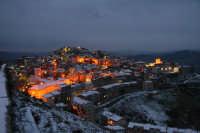 Capizzi, panorama innevato all'imbrunire  - Capizzi (9264 clic)