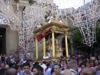 Processione della festa di S. Giacomo 2008, uscita dal Santuario.  - Capizzi (4689 clic)