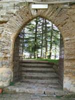 Castello di Lombardia - Accesso ai giardini. [Foto: Zef Cinquegrani] ENNA Zef Cinquegrani