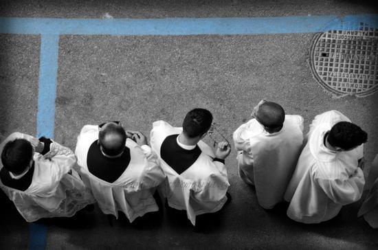 Processione della real Maestranza - CALTANISSETTA - inserita il 22-Apr-14
