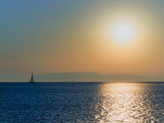 Tramonto sulel isole Egadi -  - inserita il 07-Sep-11