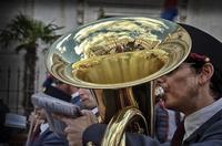 momenti della processione della Real Maestranza   - Caltanissetta (1912 clic)