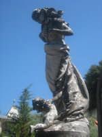 Cimitero: monumento funebre 1  - Mistretta (3376 clic)