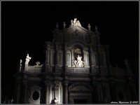 Duomo di Catania di notte  - Catania (3857 clic)