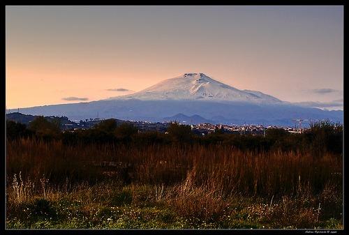 L'Etna al tramonto - CATANIA - inserita il