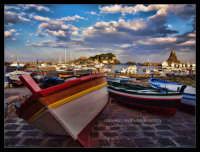 Barche trezzote Barche al porto di Acitrezza  - Aci trezza (12000 clic)