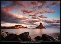 Un tramonto da sogno Tramonto ad Aci Trezza  - Aci trezza (5102 clic)