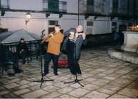 Sasofone e Ukulele (Ibla Buskers 2005)  - Ragusa (3294 clic)