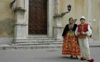 Domenica delle palme Ragazzi nel tipico costume albanese  - Piana degli albanesi (7905 clic)
