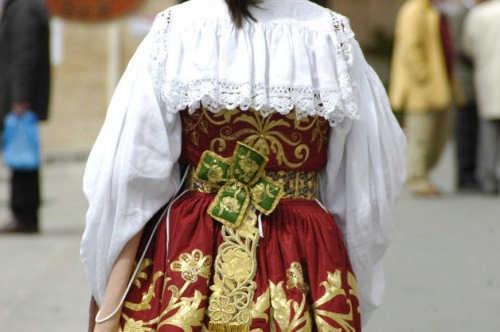 Fotografia Domenica delle palme , costume tipico albanese PIANA ...