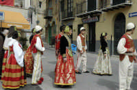 Domenica delle palme , processione nei titpici costumi albanesi  - Piana degli albanesi (7103 clic)