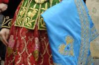 Domenica delle palme , particolare del costume albanse PIANA DEGLI ALBANESI GIUSEPPE RANNO