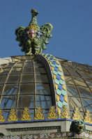 Palco villa comunale -  stemma della città  CALTAGIRONE GIUSEPPE RANNO