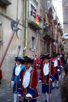 Processione del venerdi santo - Costumi Senato civico  - Caltagirone (1950 clic)