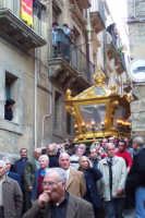 Processione del venerdi santo - Statua Cristo morto  - Caltagirone (2505 clic)