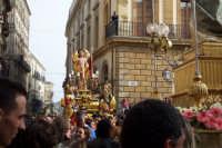 Domenica di Pasqua - statua del Cristo risorto  - Caltagirone (2288 clic)