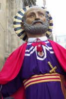 Domenica di Pasqua - statua di San Pietro  - Caltagirone (1930 clic)