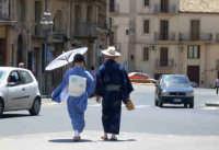 Turisti dal lontano Giappone  CALTAGIRONE GIUSEPPE RANNO