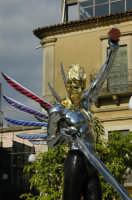 Piazza Dante Statua di San Michele    - Grammichele (2893 clic)