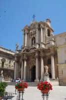 Piazza Duomo , Cattedrale  - Siracusa (1470 clic)