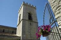 Particolare torre campanaria   - Montalbano elicona (6857 clic)