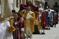 Corteo rievocazione storica dell'evento miracoloso di S.Lucia durante la carestia del 1646  - Siracusa (5004 clic)