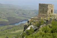 Torre di avvistamento con panorama il lago di Pozzillo  - Agira (3862 clic)