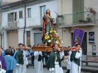Pasqua a Villarosa: 08/04/2007, la processione con la statua di S.Giovanni su Corso Garibaldi.   - Villarosa (3182 clic)