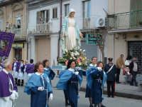 Pasqua a Villarosa: 08/04/2007, la processione con la statua della Madonna su Corso Garibaldi.  - Villarosa (3607 clic)