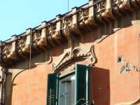 Palazo Dato, particolare del cornicione (Arch. V.Alagna) PALERMO Paolo Naselli