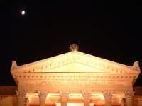 Teatro Massimo,iscrizione sull'architrave (arch.G.B.Filippo Basile). PALERMO Paolo Naselli