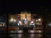 Piazza Politeama by night. PALERMO Paolo Naselli
