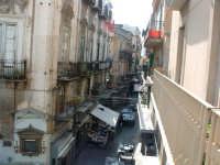 Via S.Agostino,scorcio dell'antico mercato del Capo nelle prime ore del giorno. PALERMO Paolo Nasell