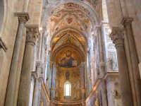 Duomo, l'abside con i mosaici del Cristo Pantocratore  - Cefalù (12976 clic)