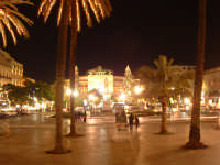 Natale 2003:luci in Piazza Politeama. PALERMO Paolo Naselli