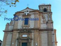 Cattedrale:la facciata principale.  - Piazza armerina (1452 clic)