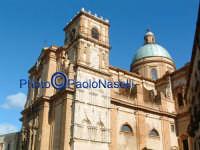 Cattedrale:veduta di scorcio.  - Piazza armerina (1403 clic)