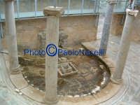 Villa Romana del Casale:Atrio porticato ad esedra.  - Piazza armerina (3188 clic)