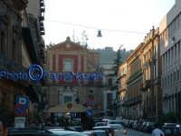 Corso Umberto I con sullo sfondo la Chiesa di S.Agata al Collegio. CALTANISSETTA Paolo Naselli