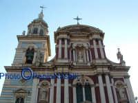 Chiesa di S.Sebastiano: la facciata principale prima del restauro completato nel 2008. CALTANISSETTA