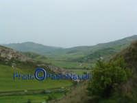 La vallata del Fiume Morello,nei dintorni del bivio che da Villapriolo conduce ad Alimena, Nicosia e