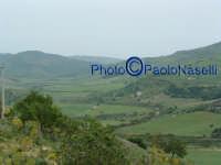 La vallata del Fiume Morello, nei pressi del bivio che da Villapriolo porta ad Alimena, Nicosia e Ca