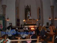 Venerdì Santo 2009: l'attesa prima della Via Crucis, all'interno della Chiesa dell'Immacolata Concezione.   - Villarosa (3565 clic)
