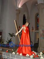 Venerdì Santo 2009: il Cristo all'interno della Chiesa dell'Immacolata Concezione.  - Villarosa (3649 clic)