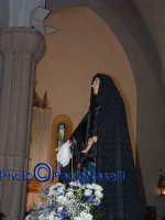 Venerdì Santo 2009: l'Addolorata all'interno della Chiesa dell'Immacolata Concezione.  - Villarosa (3911 clic)
