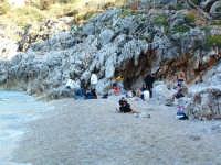 La spiaggia della prima caletta dal lato Castellammare del Golfo  - Riserva dello zingaro (6165 clic)