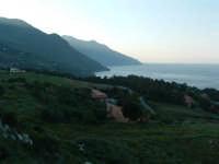 Panorama dal borgo verso la Riserva dello Zingaro lato S.Vito Lo Capo  - Scopello (1621 clic)